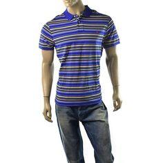 Polo Ralph Lauren Polo Shirt Mens Striped Pique Custom Fit Shirts Size XL NEW #PoloRalphLauren #PoloRugby