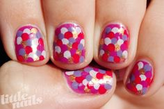 Nail DIY: How to Do a Mermaid Manicure | College Gloss