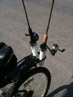 Rod holder for bike