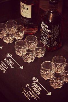 Wedding Reception Idea We Love: Whiskey Bars