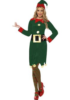 Lady Elf Costume, Female Elf Christmas Fancy Dress - Christmas Costumes at Escapade™ UK - Escapade Fancy Dress on Twitter: @Escapade_UK