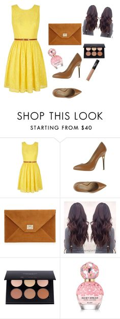 """Going out"" by ahmetovic-mirzeta ❤ liked on Polyvore featuring Yumi, Vicini, Marc Jacobs and NARS Cosmetics"