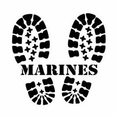 A personal favorite from my Etsy shop https://www.etsy.com/listing/253342977/marine-corp-boots-decals-marine-corp
