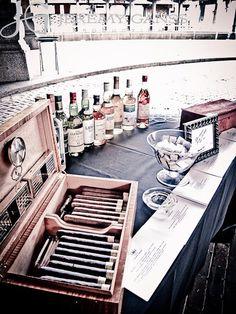 Cigar & Whiskey Gentleman's Essentials