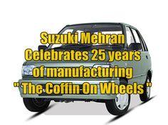 Suzuki Mehran Celebrates 25 years of manufacturing
