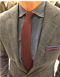 Bruno Cucinelli's genious use of color and fabric for suits.