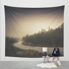 The roads we travel Wall Tapestry by HappyMelvin | Society6