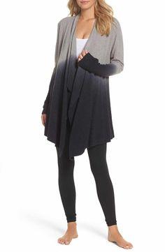 Main Image - Barefoot Dreams® CozyChic Lite® Calypso Wrap Cardigan (Nordstrom Exclusive)
