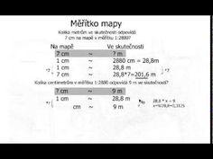 Měřítko mapy 2 - YouTube