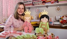 Curso Online de Feltro: peças decorativas e lembrancinhas para bebês. ✓ Aprenda com experts ✓ Certificado Reconhecido ✓ Experimente 7 dias grátis na eduK.