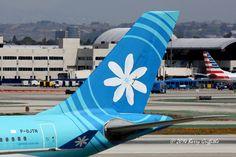 Airbus A340-313E s/n 395 Air Tahiti Nui F-OJTN Tail Design | par (Barry) Griffiths