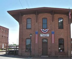 Railroad Depot where Lincoln gave his last address to the people of Springfield, IL