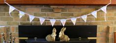 Happy Easter Banner by Lizzie Jones for Papertrey Ink (February 2015)