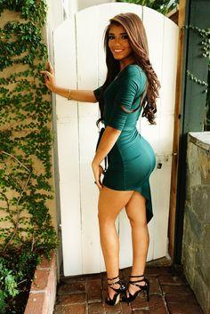 Yovanna Ventura Wrap Dress #green #dresses #sexy #legs #high #heels