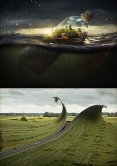 Erik Johansson Photo Manipulation