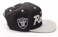 Vintage Los Angeles Raiders NFL Hat Mitchell and Ness Snap Back Adjustable   MitchellNess  LosAngelesRaiders 68e1c2a4c