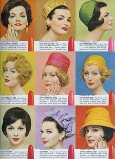 Vintage Makeup Coty From Seventeen, March 1961 - From Seventeen, March 1961 Vintage Makeup, Vintage Beauty, 50s Makeup, Moda Vintage, Retro Vintage, Hippie Woodstock, Retro Fashion, Vintage Fashion, 1960s Fashion Women
