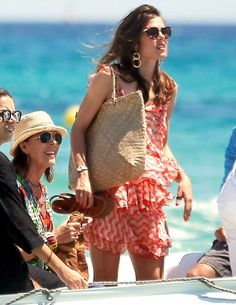 Princess Caroline of Hanover and Monaco with daughter Charlotte Cassiraghi July 2017