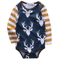 2e02bd776be2 Deer Print Baby Bodysuit. Baby   Toddler ClothingInfant ...