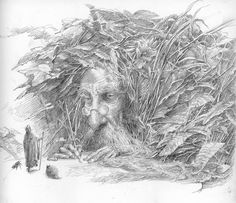 """Fairy Scribe"" by Alan Lee."
