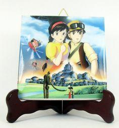 Castle in the Sky Studio Ghibli Laputa ceramic by TerryTiles2014
