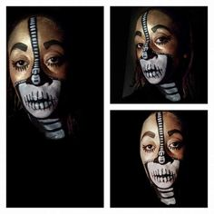 Face paint by Joy