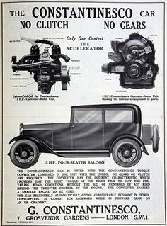 George Constantinescu - Wikipedia Mechanical Gears, Engineering Science, Torque Converter, Combustion Engine, Car Advertising, Steel Wheels, Diesel Engine, Inventions, The Unit