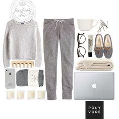 {Lazy Days} #Polyvore