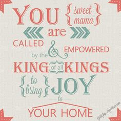 You are called to bring JOY!