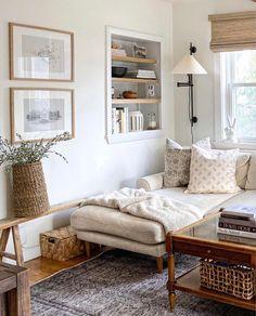 Home Living Room, Living Room Designs, Living Room Decor, Living Spaces, Living Room Inspiration, Interiores Design, Family Room, House Design, Decoration