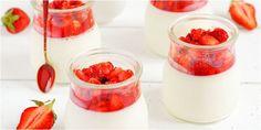 [Resep] Puding Stroberi Merah Putih http://www.perutgendut.com/read/puding-stroberi-merah-putih/3244 #Resep #Food #Kuliner #Indonesia