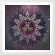 twwllvv myrk Art Print by Spires - $20.00