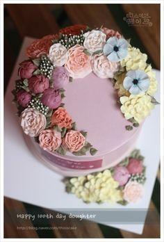 봄을 닮은 케이크~/ 세종시케이크/ 디스이즈케이크 : 네이버 블로그