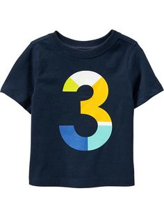 """""""3"""" Tees for Baby Product Image"""