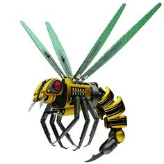 """Wired : """"Engineers plan to upload bee brains to flying robots"""