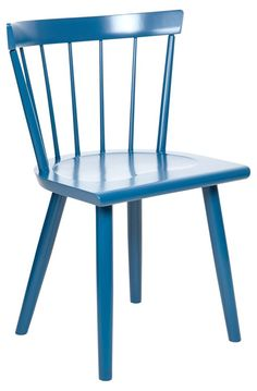 Colt Lowback Side Chair, Brittany Blue