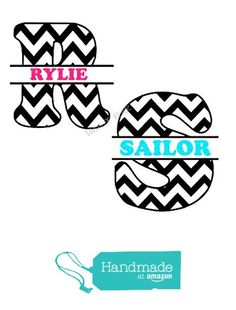$8.99 Custom Personalized Chevron Monogram Wall Art Vinyl Decal with First of Last Name; Customizable for Home, Yeti Cup, Mail Box, Wall, Water Bottle, Cell Phone from Dash of Flair http://www.amazon.com/dp/B01AWPFYYE/ref=hnd_sw_r_pi_awdo_EGyRwb1QCXEZD #handmadeatamazon