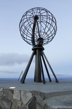 Globe North Cape in November Travelblog JoyDellaVita