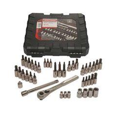 "#Sears: 42-Piece Craftsman 1/4"" and 3/8"" Drive Bit & Torx Bit Socket Wrench Set $26.99  Free Store Pickup  Sears http://www.lavahotdeals.com/us/cheap/42-piece-craftsman-1-4-3-8-drive/50985"