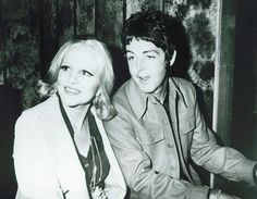 Peggy Lee and Paul McCartney, 1974