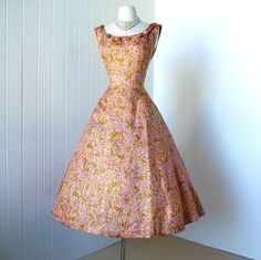 Mollie Parnis New York 1950s party dress (deadstock)