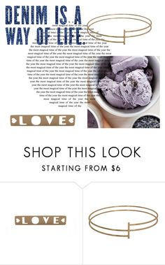 """Denim"" by smartdesign ❤ liked on Polyvore"