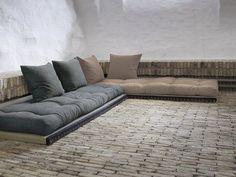 Canapé modulable et convertible avec futons et tatamis CHICO SOFA