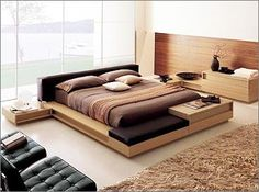 Modern beds and modern bedroom ideas | Wood shop