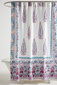 Anthropologie Meze Shower Curtain