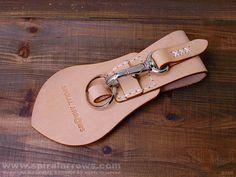 帶環鑰匙KS0011N / K / C皮革螺旋箭
