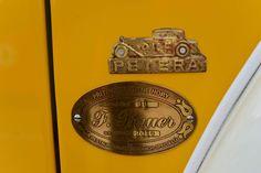 Petera - Renown Czechoslovak Coachbuilder - Badge on Tatra 77