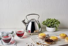 Slow down this Sunday and have a warm pot of your favourite tea with your Stainless Steel Kettle that's sure to keep your beverage warm as you enjoy your afternoon snack. Stainless Steel Kettle, Afternoon Snacks, Utensils, Beverage, Sunday, Essentials, Kitchen Appliances, Warm, Tea