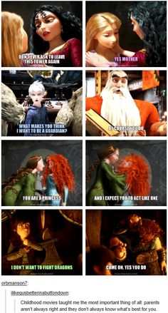 It said parents but North isn't Jack's father unless....OHMEHGERD what if North was Jack's father in Burgess?!?! That would explain why Jack sees him as a fatherly figure!!! THE FEELS Disney Memes, Disney Cartoons, Disney Quotes, Disney Crossovers, Httyd, Tangled Mother Gothel, Disney Stuff, Disney Fun, Disney Magic