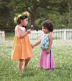 Sweet girls dresses for SPRING!!! #maryhelenclothing
